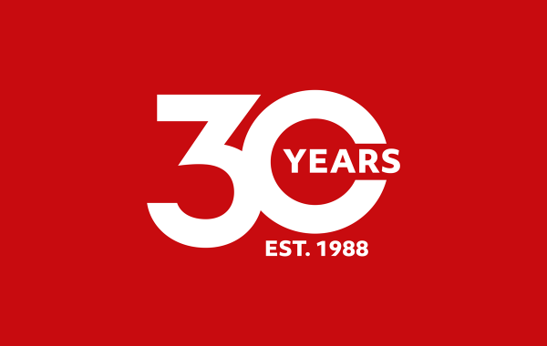 30 years red